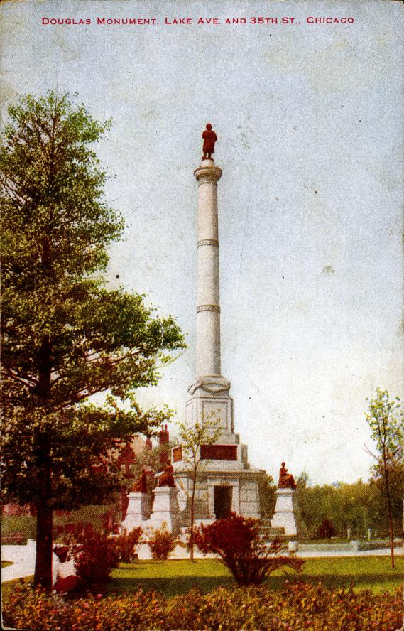 [Douglas Monument, Lake Ave. and 35th St., Chicago]