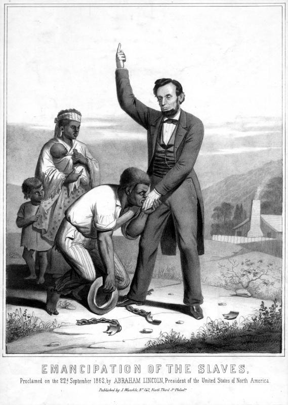 Emancipation Of The Slaves The American Civil War 150