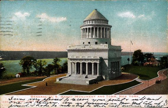 [General U. S. Grant Monument and Tomb, New York]
