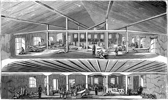 [Interior View of Libby Prison]