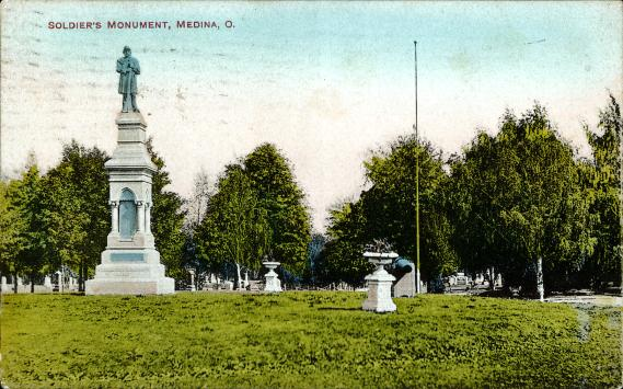 [Soldier's Monument, Medina, O]