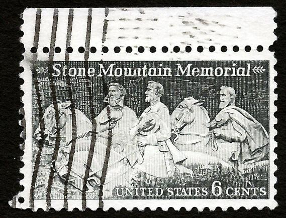 [Stone Mountain stamp, issued in 1970]
