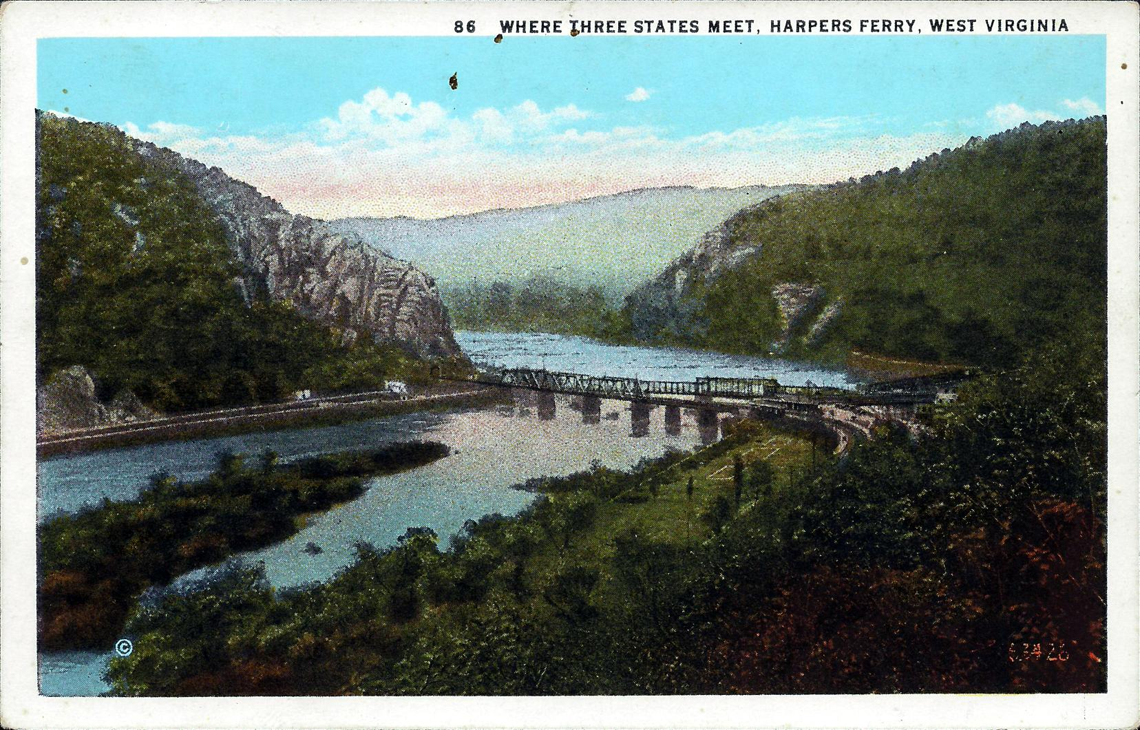 Harpers Ferry (WV) United States  city images : Where Three States Meet, Harper's Ferry, West Virginia | The ...