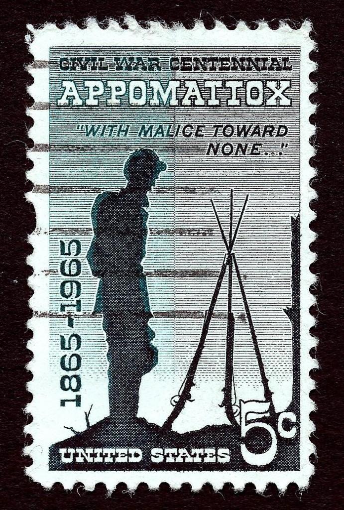 Appomattox stamp