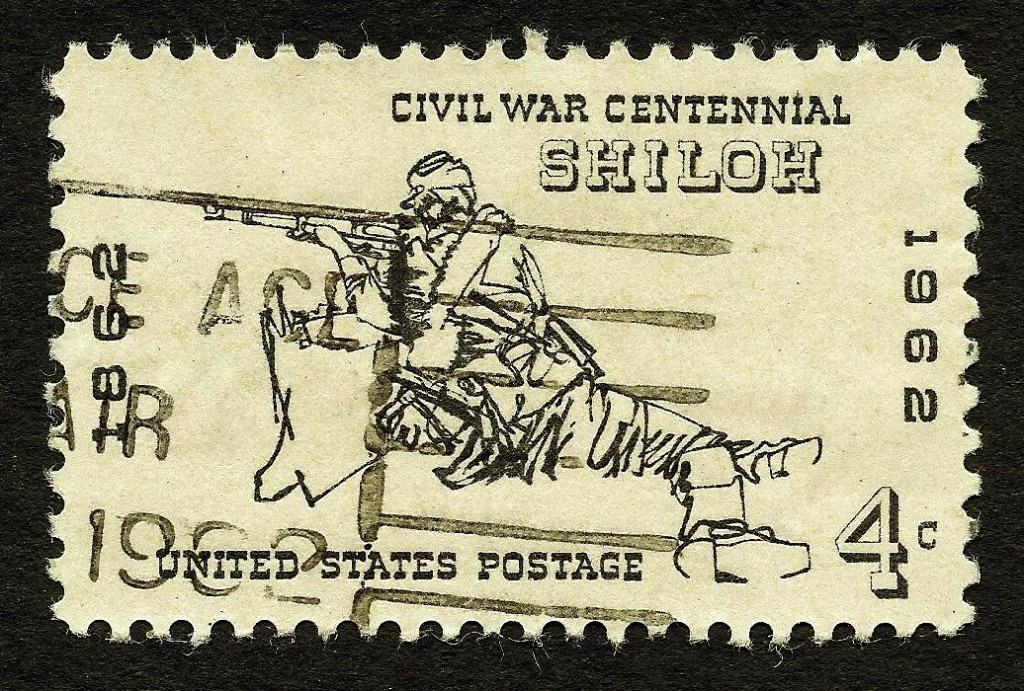 Battle of Shiloh stamp