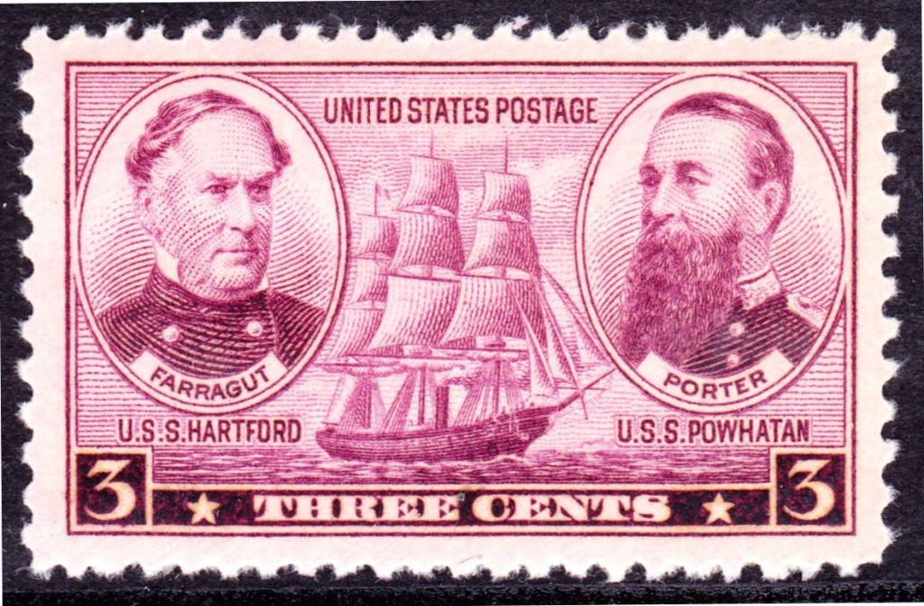 Army and Navy issue of 1937: Farragut and Porter