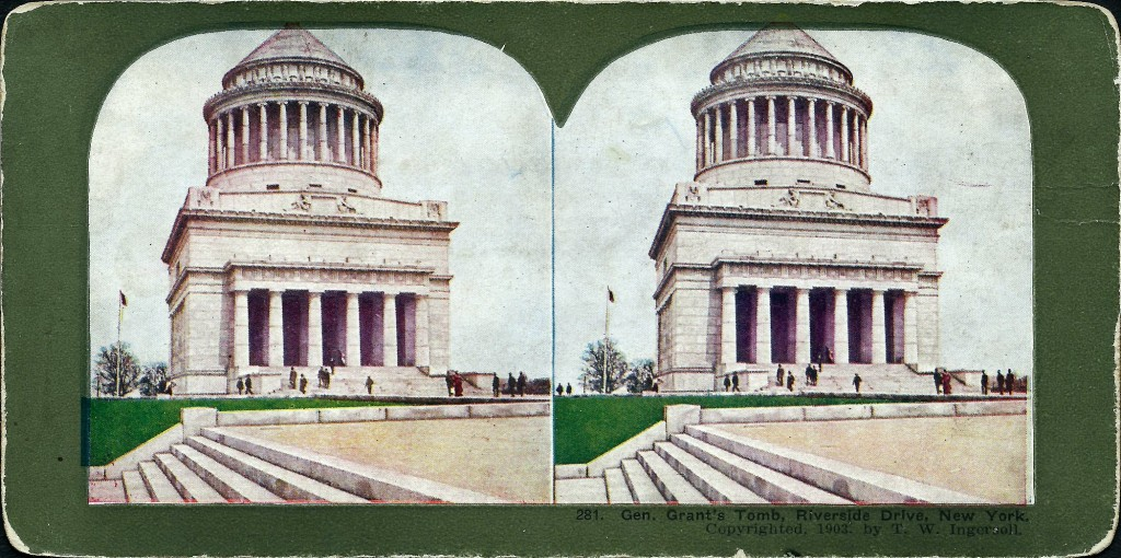 [Image of General Grant's Tomb, Riverside Drive, New York]