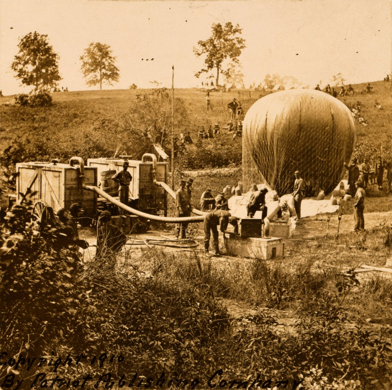 the use of balloons in the civil war In addition, the civil war saw the first general use of the telegraph and the railroad, the ironclad warship and the submarine, and even hot air balloons for observation in the last year of the.