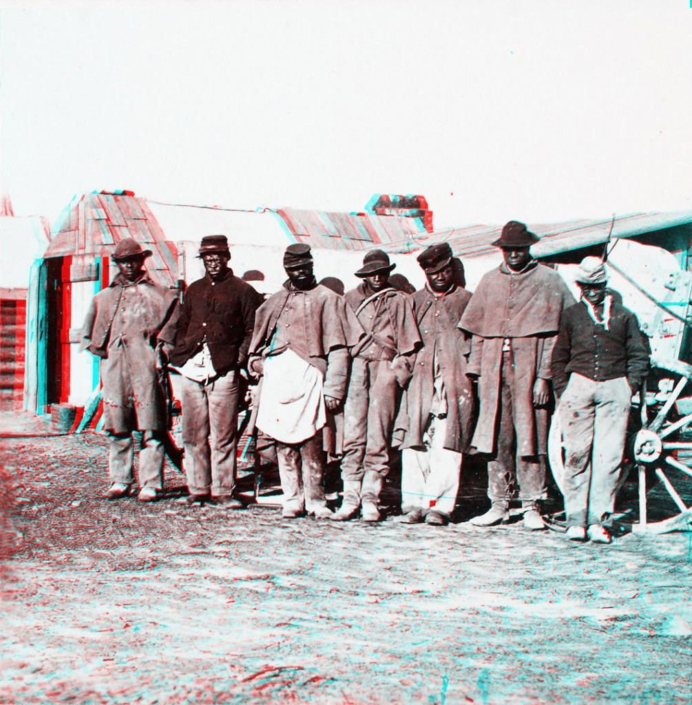 A group of contrabands