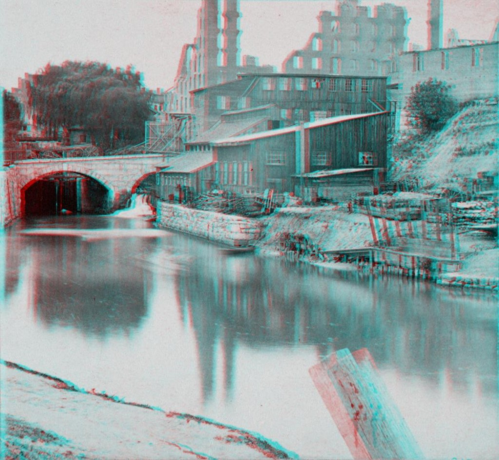 View on the Lynchburg Canal, Richmond