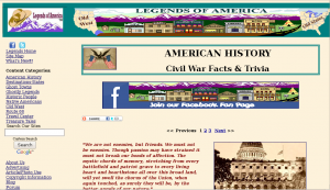 Civil War Facts and Trivia