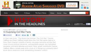 10 Surprising Civil War Facts