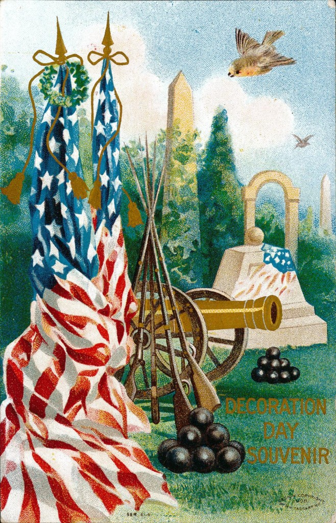 Decoration Day Souvenir Postcard