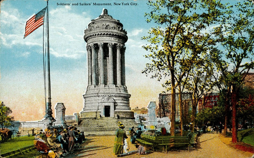 Soldiers' and Sailors' Monument, New York City