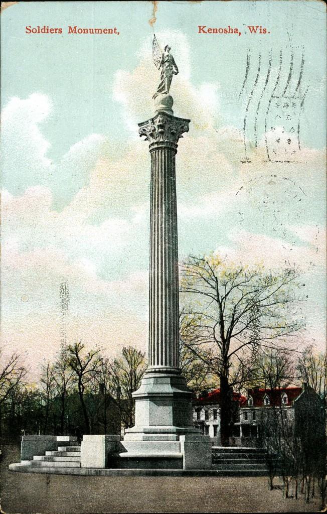Soldiers Monument, Kenosha, Wis.